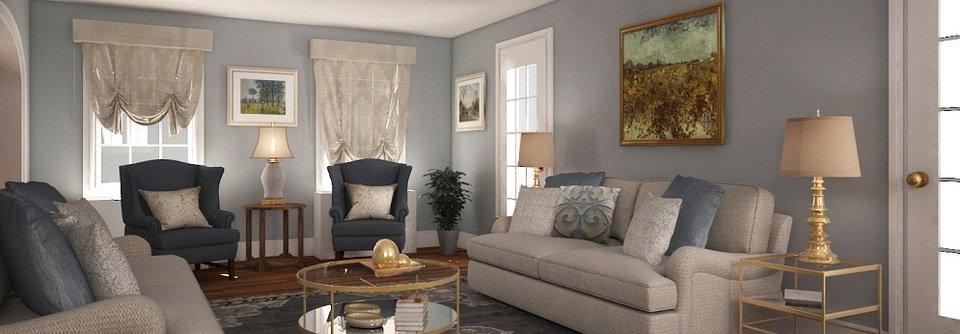 comfy living room transformation  decorilla