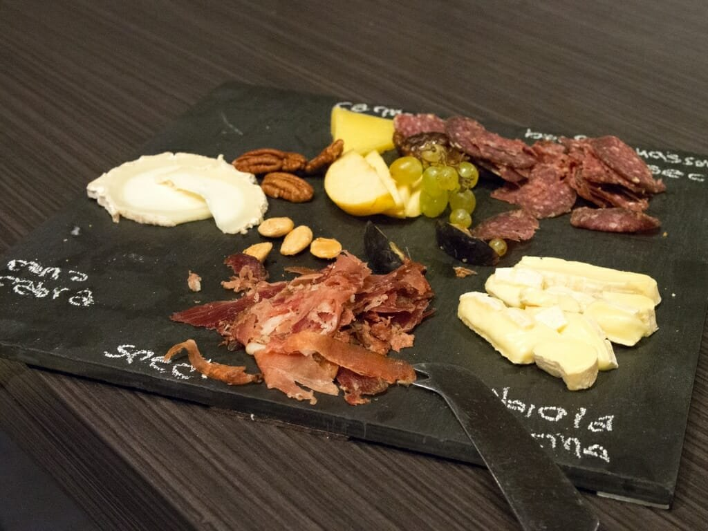 We all enjoyed delicious platters and hors d'oeuvres from Tuffet Wine & Cheese Bar