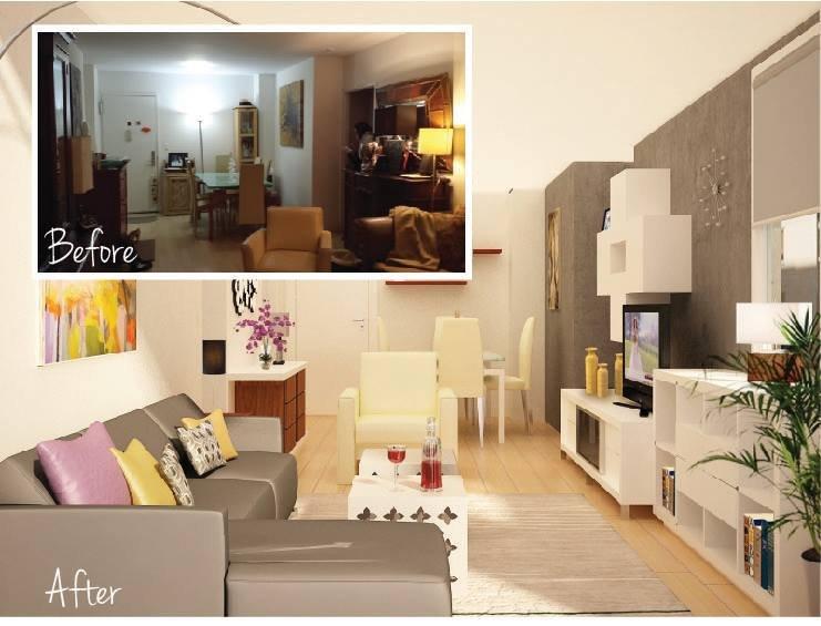 How Debra Saved ,600 On Her New Designer Living Room