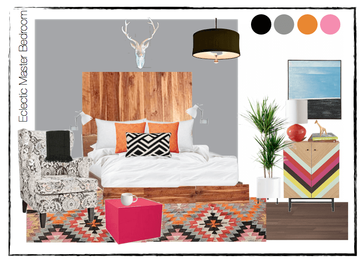 eclectic moodboard