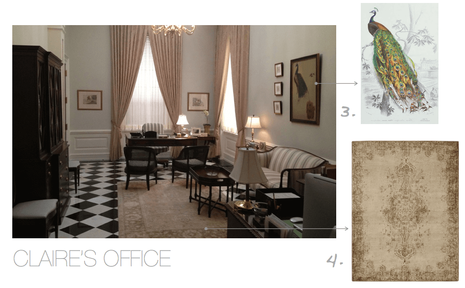 House of Cards Claire's Office