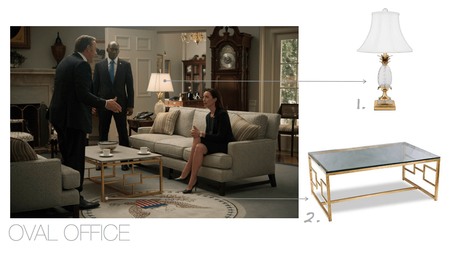 House of Cards Oval Office Design