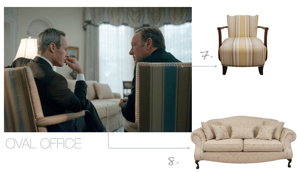 House of Cards seating