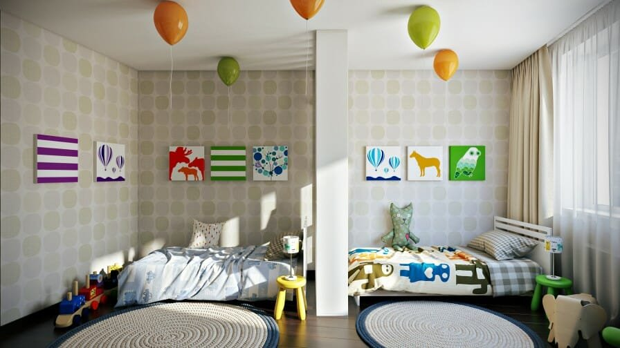 Sibling Spaces 3 Design Tips For Your Kids Shared Room
