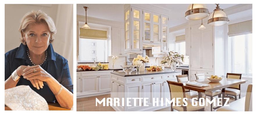 Top NYC interior designers Mariette Himes Gomez