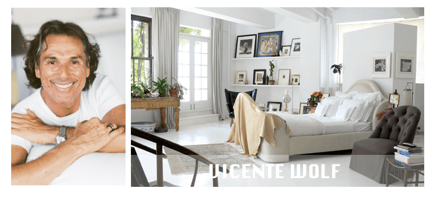 Top NYC interior designers Vicente Wolf
