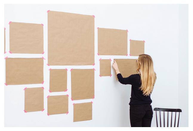 gallery wall tips mock up