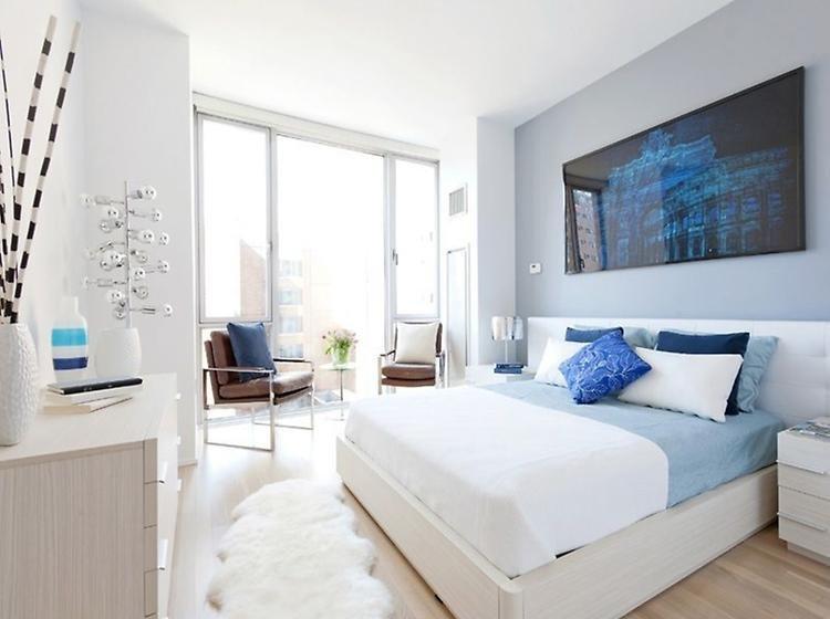 Sheepskin bedroom area rug
