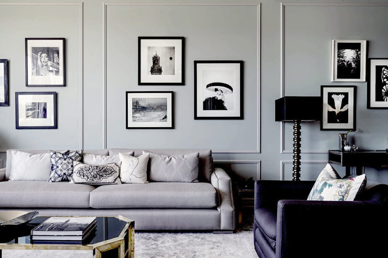 grey winter interior design