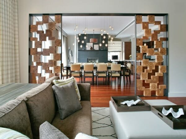 winter interior design room dividers