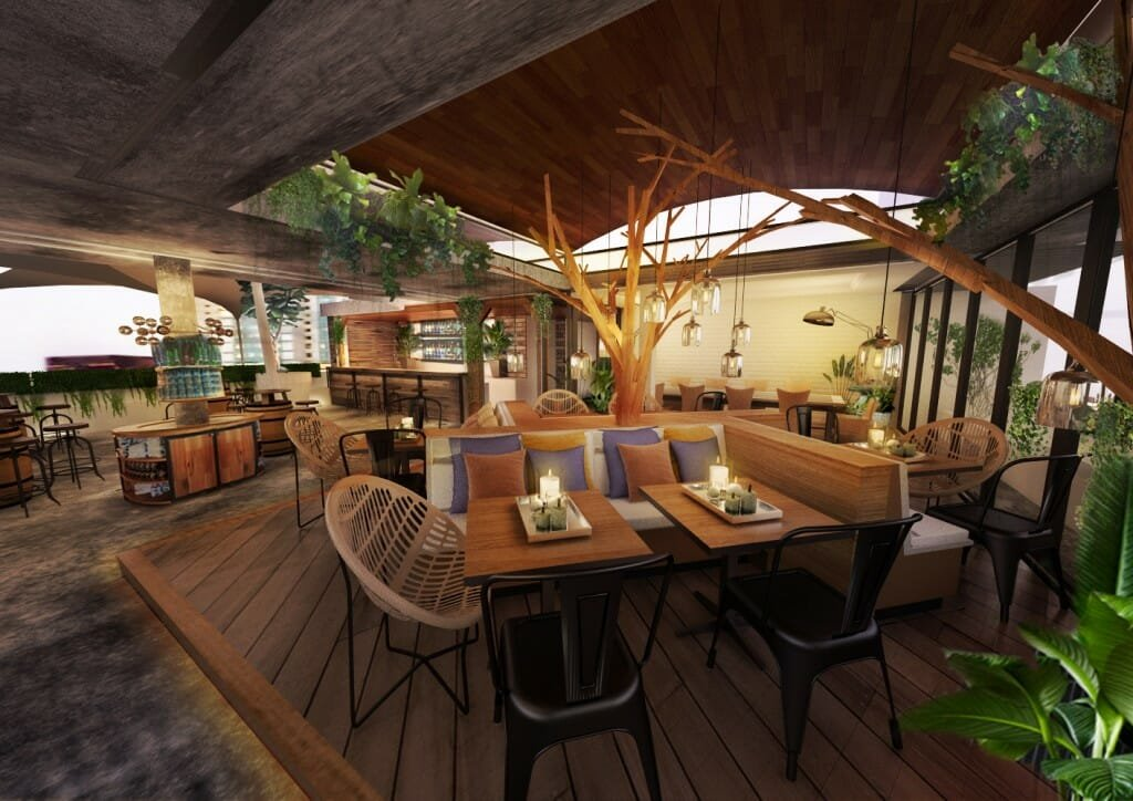 organic cafe decorilla designer Ibrahim