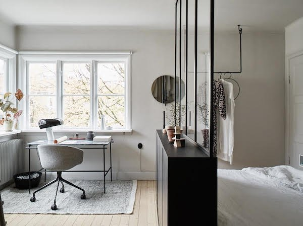 scandinavian interior design clutter free