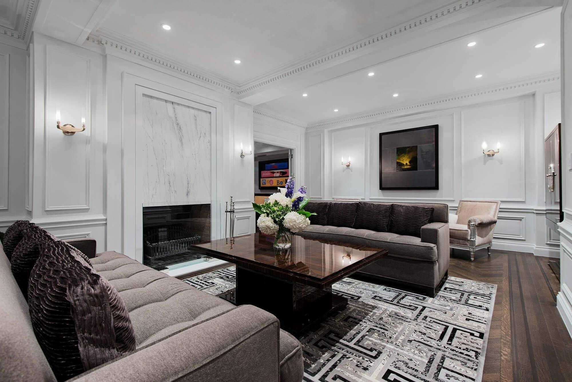 Luxury transitional sitting room by top miami interior designer britto charette