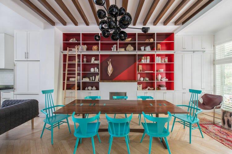 bold color interior design