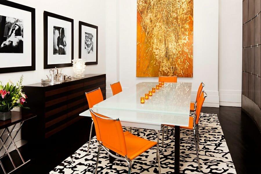 interior design tips bold color