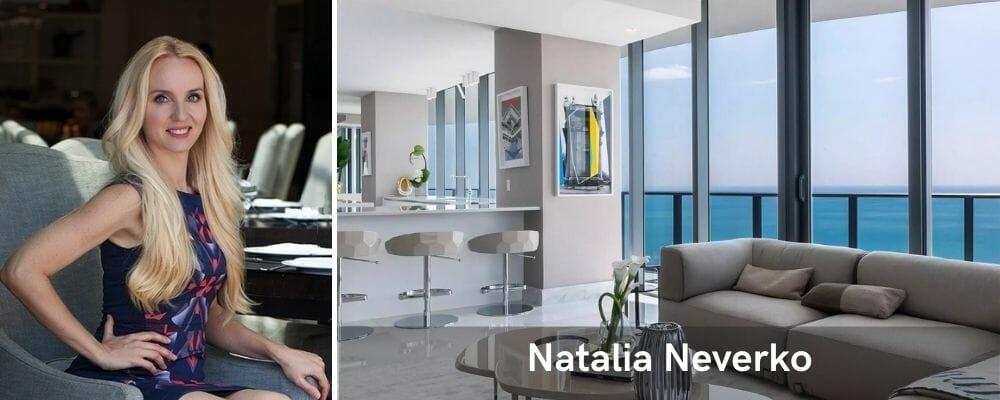 one of the top miami interior designers natalia neverko
