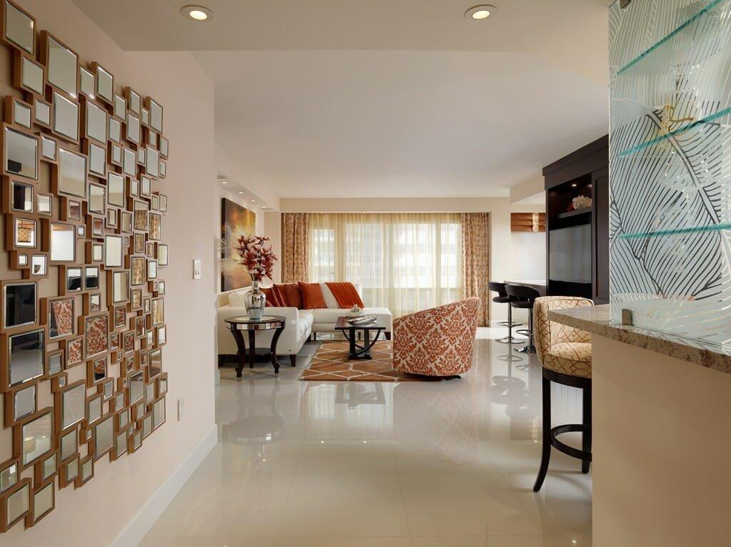 top Miami designers Decorilla Emily living room