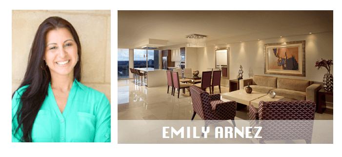 top miami interior designers Emily Arnez