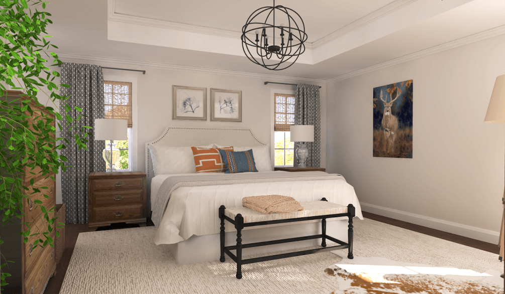 virtual reality bedroom design 360 view1