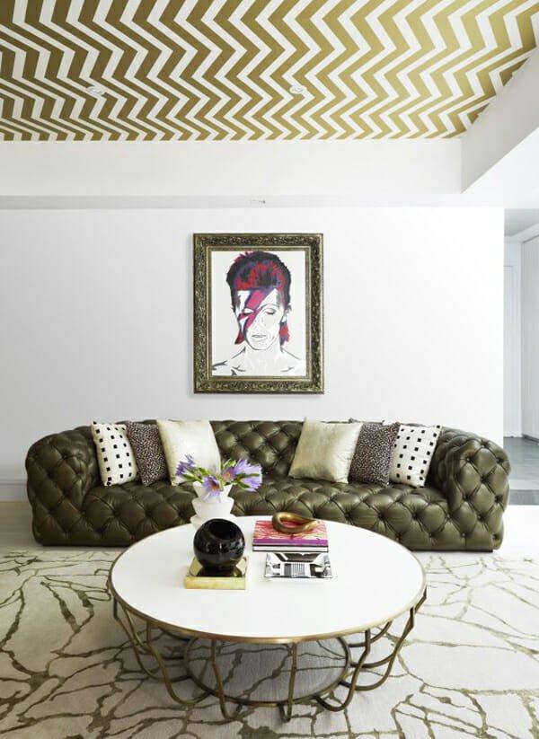 ceiling wallpaper room design