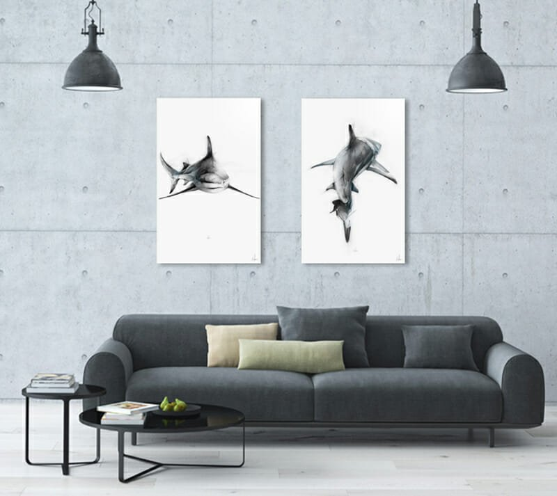 wall decor ideas modern art