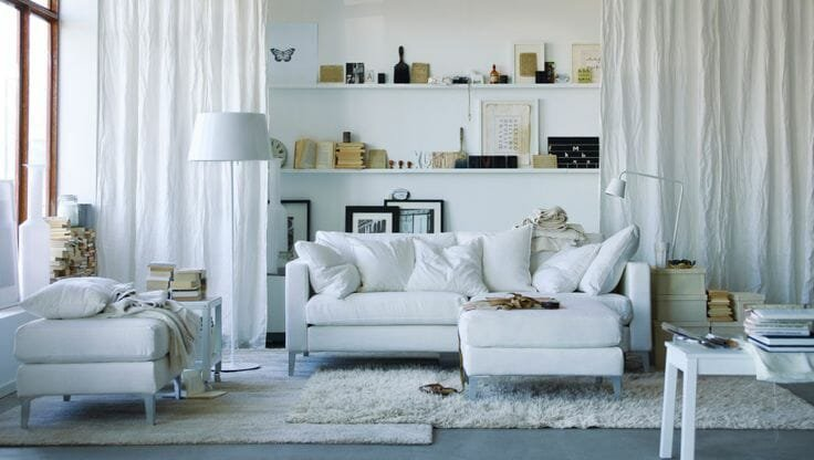 layering rugs with shag rug