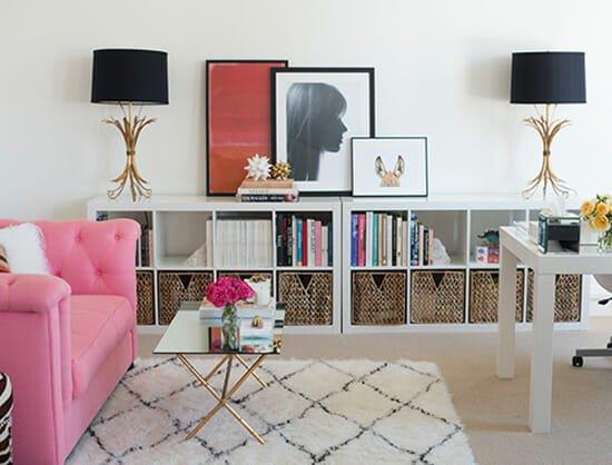 living-room rug on carpet
