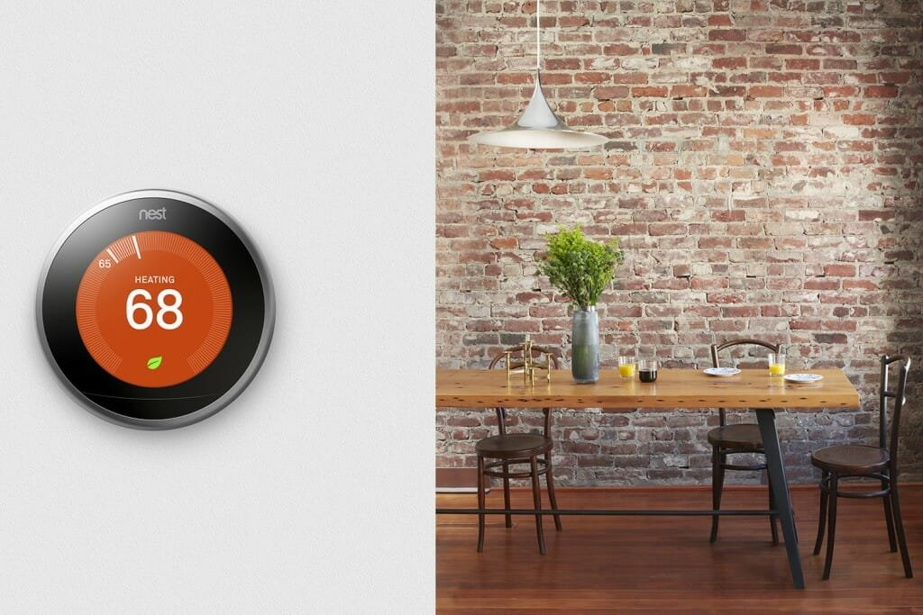 nest-thermostat-sustainable interior designer tip