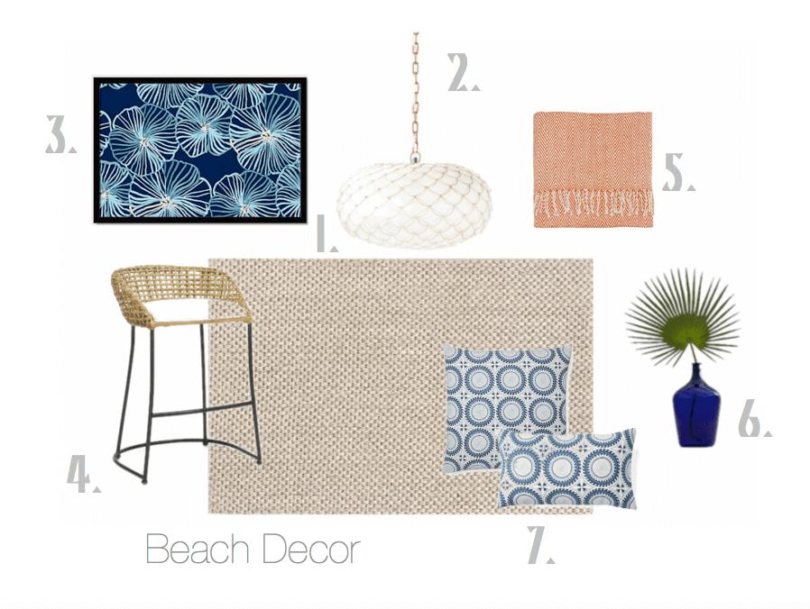 beach decor ideas