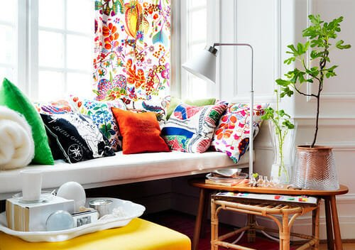 citrus colors summer decorating ideas