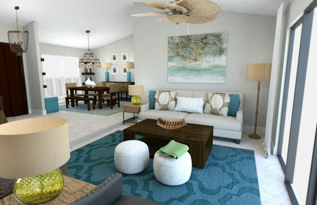 Beach Decor: 3 Online Interior Designer Rooms | Decorilla ...