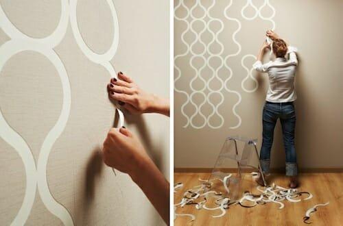 Design Milk interior design blog znak-wallpaper-1