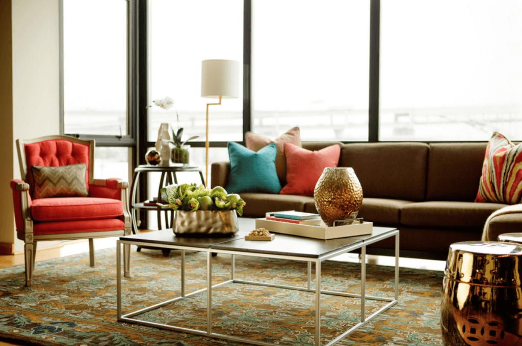 fall living room interior design