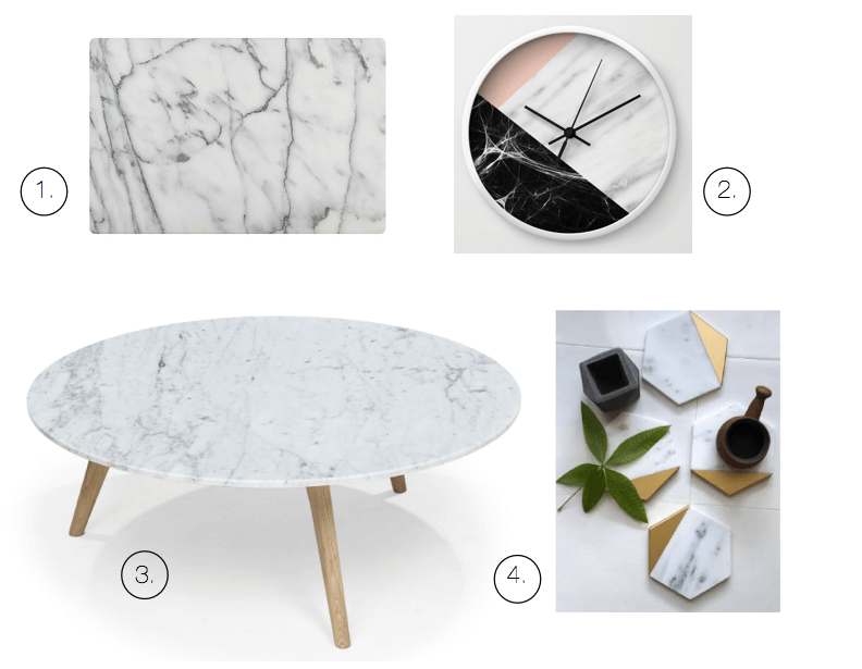 fall trends marble accents