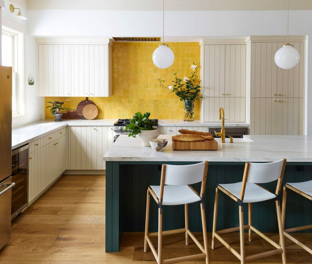 Farmhouse modern kitchen by landed interiors
