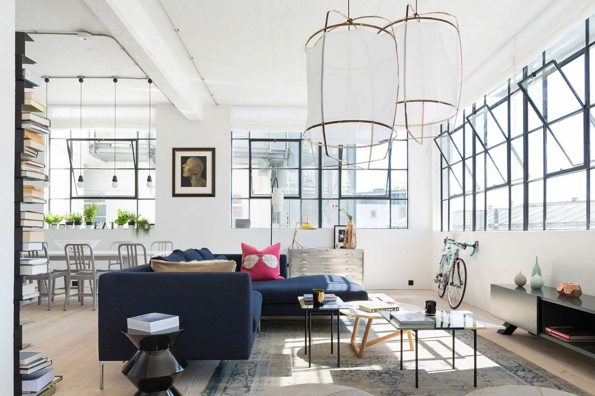 Before After Eclectic Online Studio Apartment Design