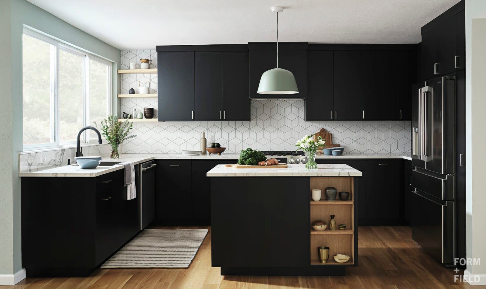 Scandinavian kitchen by san francisco interior designer Christine Lin