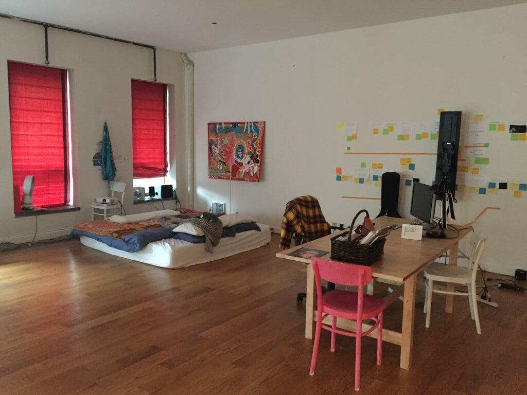 online interior designer room before