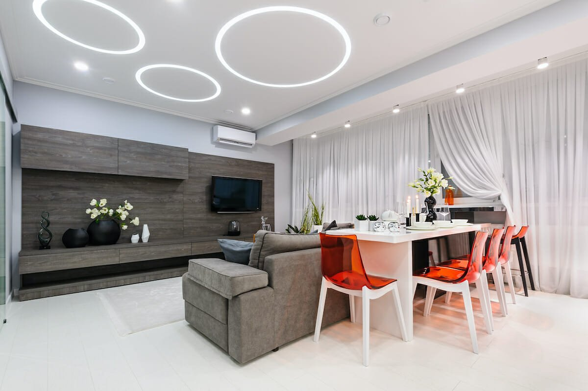 contemporary-open-living-dining-room-by-Irina-Gunica