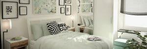 online interior design bedroom with storage