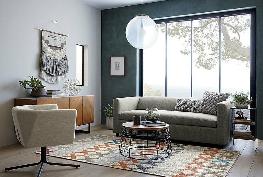 modern-room-featuring-a-boho-wall-hanging