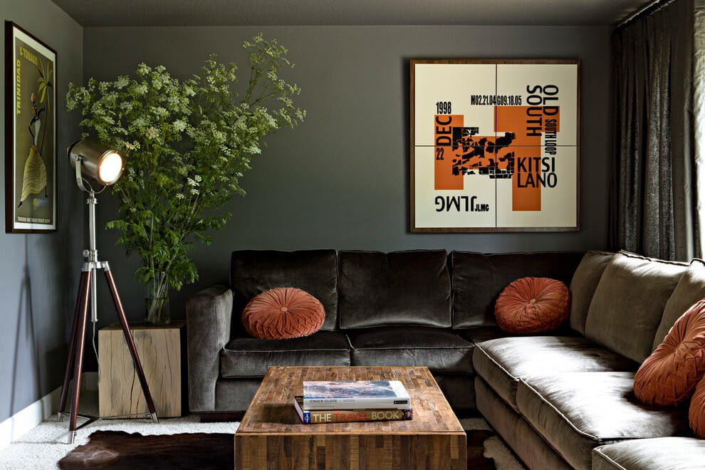 velvet-decorative-pillows-family-room-contemporary-with-bold-graphic-contemporary-cowhide
