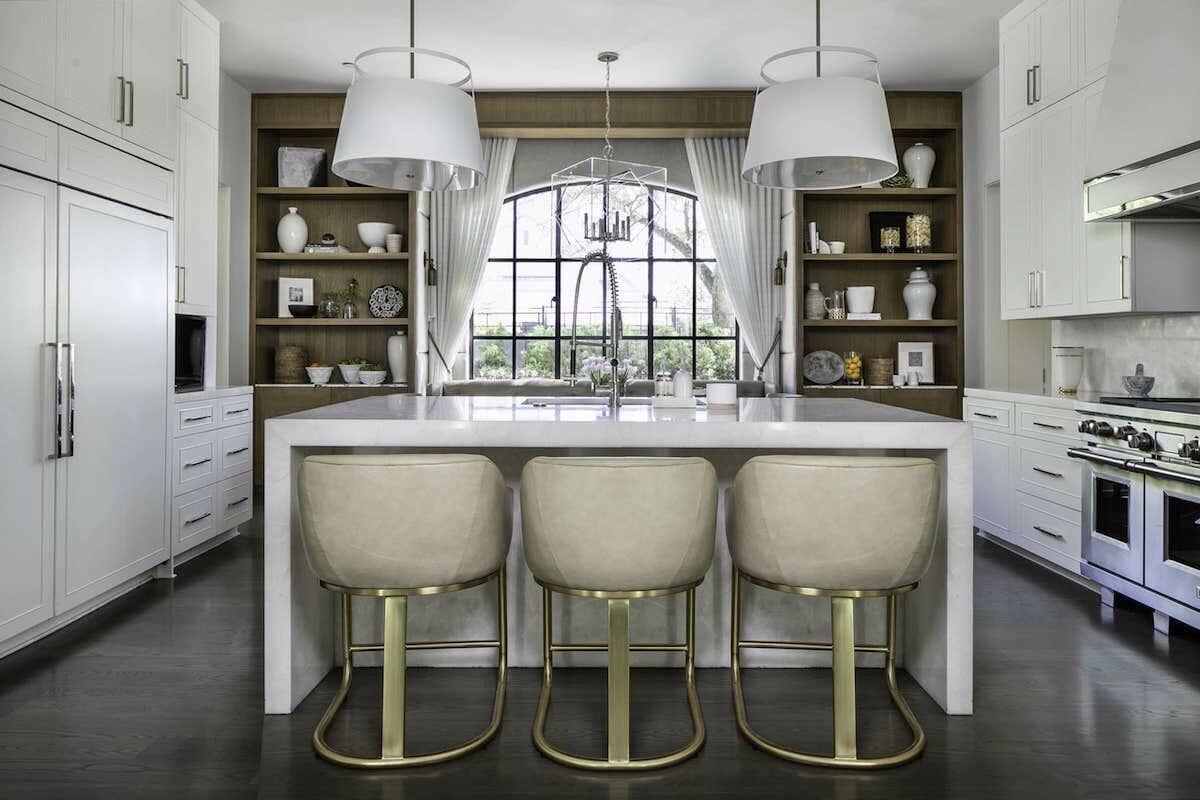 Luxury kitchen by top interior decorator houston tx