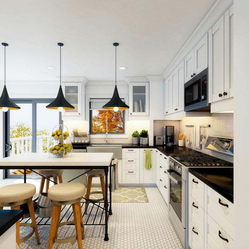 Online interior designer kitchen