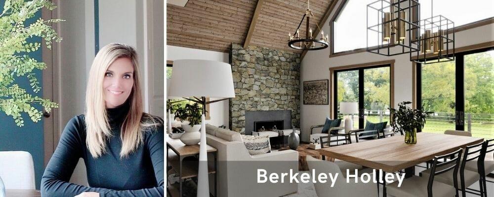 top interior decorator houston - berkeley holley