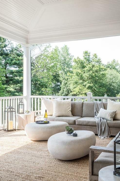 modern style porch design