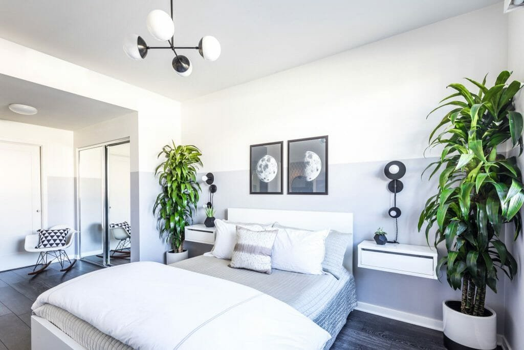 Online Interior Designer Spotlight Michelle Boudreau modern bedroom