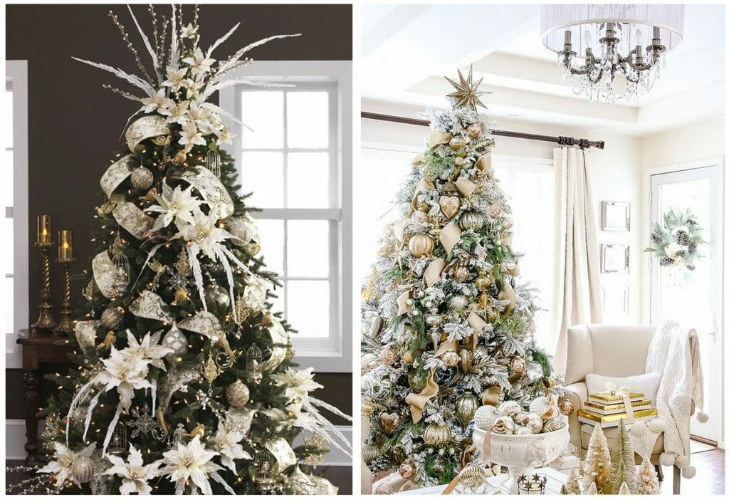 Christmas Tree decor for Every Design Style glamorous tree