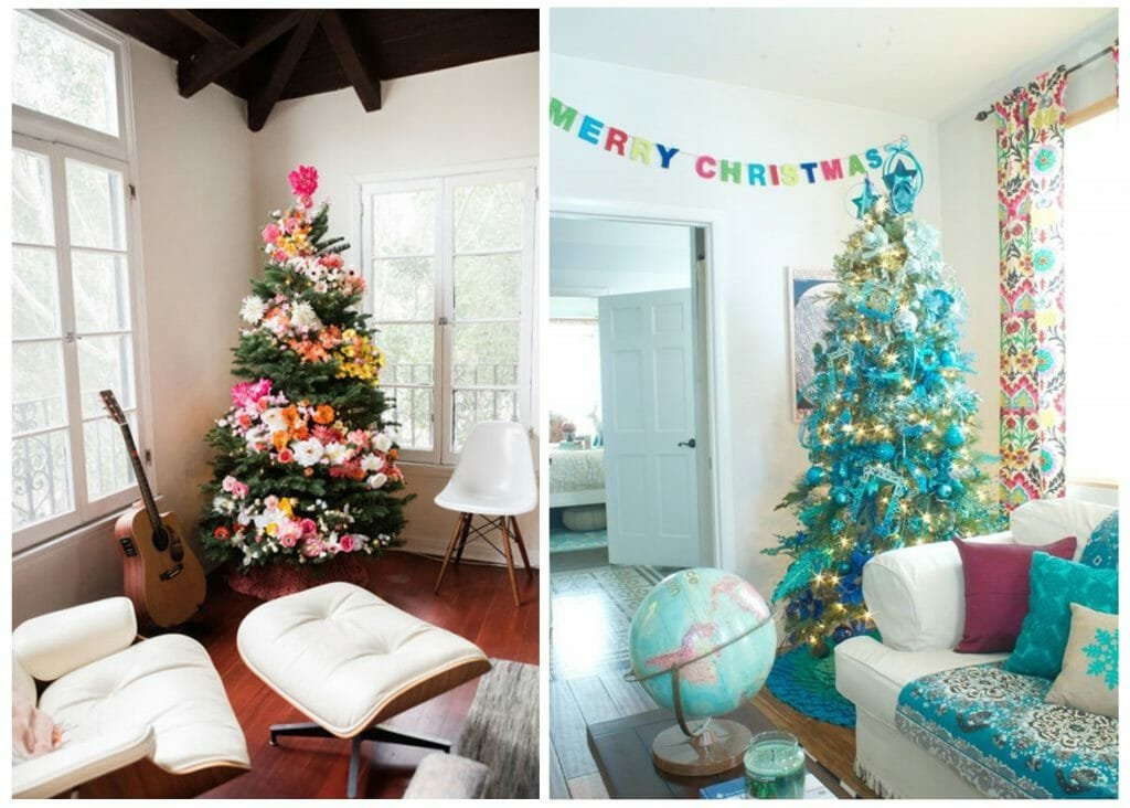 Christmas Trees decorfor every design style eclectic