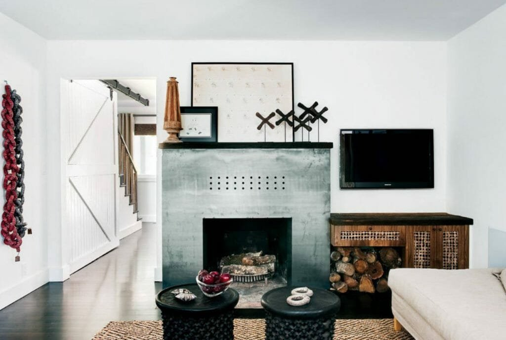 modern fireplace mantel collection